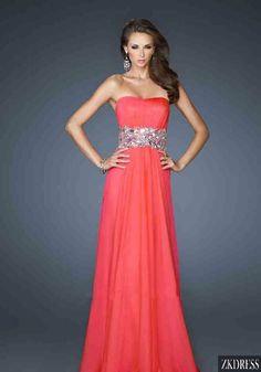 8af96d2d54e Shop for La Femme prom dresses at PromGirl. Elegant long designer gowns