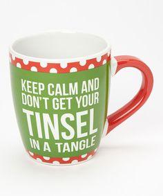 Jumbo Coffee Mug Until Santa Checks the Naughty List NEW 24 oz cup with gift box
