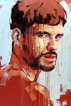 Jimmy Law is a self-taught artist and painter of expressive portraits and expressive nudes and resides in Cape Town, South Africa. Abstract Portrait Painting, Portrait Art, Painting & Drawing, Portrait Paintings, Jimmy Law, Don Corleone, Arte Pop, Amazing Art, Art Drawings