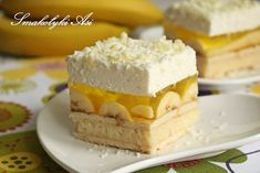 Cake Recipes, Dessert Recipes, Desserts, Bon Appetit, Vanilla Cake, Cheesecake, Lunch Box, Food And Drink, Cooking