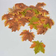 Σετ 28τχ Φθινοπωρινά φύλλα Σφενδάμου Πράσινο - Καφέ   eshop-dcse Leaf Tattoos, Leaves, Plants, Art, Art Background, Kunst, Plant, Performing Arts, Planets