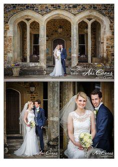 Wedding Photography Fawsley Hall Couple portraits