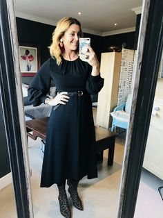 #earrings #blonde #black #dress #belt #leopard #print #heels #watch #makeup #imageconsultant #stylist #personalshopper #motivationalspeaker #saimage
