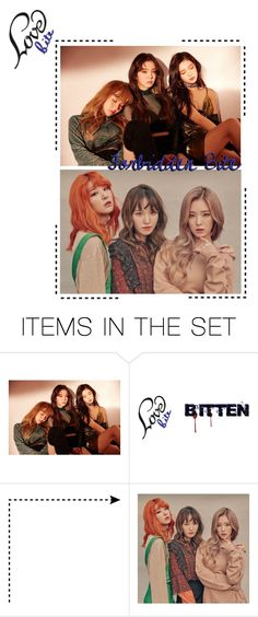 """""""[ Album Teaser ] Violet ( Love Bite ) • Forbidden Bite"""" by wlment ❤ liked on Polyvore featuring art"""