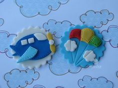 get.out.of.TOWN! These are PERFECT for the baby shower : )