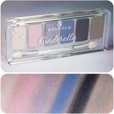 "the new ""cinderella"" #trendedition eyeshadow palette  #essence #cosmetics #cinderella #disney #essencecosmetics #eyeshadows #eyes #colourful #princess #sparkling #beautiful #instalove #beauty #makeup #amu #swatch #fairytale #glasslipper"