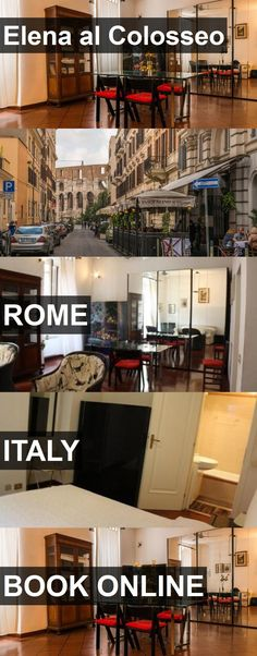 Hotel Elena al Colosseo in Rome, Italy. For more information, photos, reviews and best prices please follow the link. #Italy #Rome #travel #vacation #hotel
