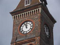 Newbury Town Hall clock. Berkshire. England.