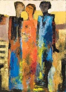 Dimension of Feeling, painting, Goli-Mahallati
