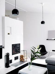 + #living #fireplace