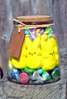 What a great idea for easter giftsd easy too ball jars and dancin with a dolly the easter jar easter basket diy mason negle Gallery