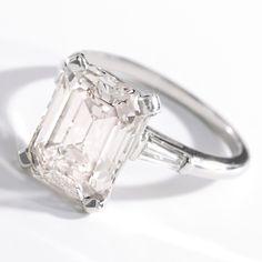 Platinum, Very Light Pink Diamond and Diamond Ring, Cartier