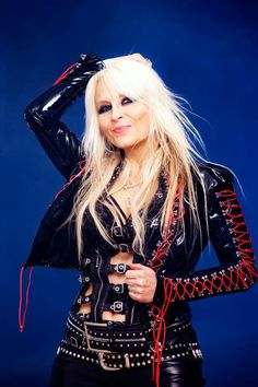 Love DORO in this jacket!!