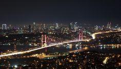 City of Blinding Lights by Ozan Şafak on City Of Blinding Lights, Sydney Harbour Bridge, Photography Portfolio, San Francisco Skyline, Paris Skyline, Istanbul, Blinds, Explore, World