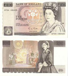 GREAT BRITAIN - 10 Pounds (1975-1992) P.379e UNC   eBay