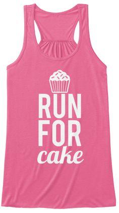 Run for Cake Tank - #runforcake
