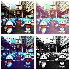 The 100 Doraemon are leaving tomorrow! Are you going to come and say goodbye?