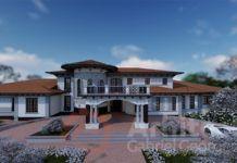 Casa cu etaj 66 Modern House Facades, Luxury House Plans, Facade House, Design Case, House Architecture, Layout Design, Construction, House Design, Snow