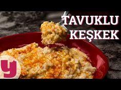 Tavuklu Keşkek Nasıl Yapılır ? (Pratik ve Nefis Tavuklu Keşkek Tarifi) - YouTube