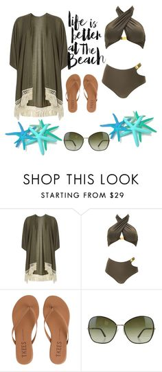 """""""Untitled #734"""" by the-luxurious-glam ❤ liked on Polyvore featuring Dorothy Perkins, Tkees and Tom Ford"""