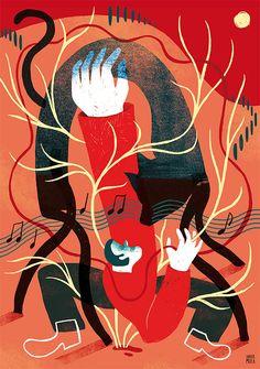 Xavier Mula studio Graphic Design Art, Art Direction, Magazine, Illustration, Anime, Illustrations, Drawings, Entryway, Anime Shows