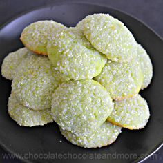 Coconut adds texture and flavor to these tangy lime cookies. Roll Coconut Lime cookies in decorator sugar for a tea time treat or roll out and cut into fun shapes for the kids. A few weeks ago a frien Chocolate Bundt Cake, Chocolate Cookies, Chocolate Chocolate, Lime Recipes, Coconut Recipes, Party Recipes, Roll Cookies, Cut Out Cookies, Easy To Make Breakfast