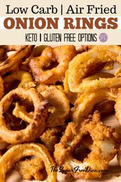 Cajun Low Carb Onion Rings Paleo Gluten Free These
