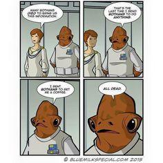Star Wars Bothans Ackbar Mon Mothma
