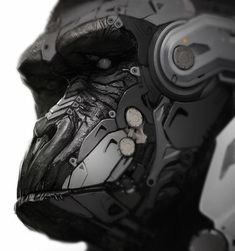 Cyborg Gorilla by *fightpunch