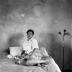 From Goodman Gallery, David Goldblatt, Mrs Miriam Diale in her bedroom, 5357 Orlando East, Soweto Platinum print on Arches Platine × Magnum Opus, African Culture, African Art, David Goldblatt, Three Dog Night, Documentary Photography, Black History Month, Photojournalism, Vintage Photos