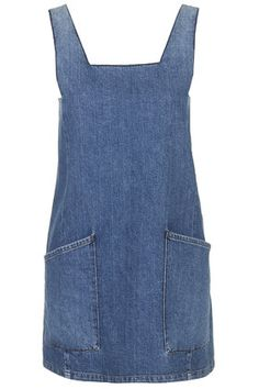 MOTO Square Neck Denim Pini
