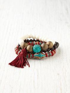 balance beads from Tibet