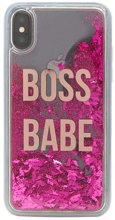 Forever 21 Boss Babe Graphic Waterfall Phone Case for iPhone XR - Liquid Glitter Iphone 6 Case - Liquid Glitter Iphone 6 Case ideas - Forever 21 Boss Babe Graphic Waterfall Phone Case for iPhone XR Liquid Iphone 6 Cases, Glitter Iphone 6 Case, Iphone 6 Plus Case, Funny Phone Cases, Pink Phone Cases, Iphone Phone Cases, Iphone 7, Birthday Gifts For Teens, Apple Products