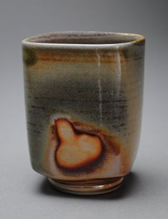 Tumbler Wine Cup Wood Fired M11 by JohnMcCoyPottery on Etsy, $22.00 www.etsy.com/shop/JohnMcCoyPottery