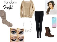 """Random outfit #3!"" by kyleegullion ❤ liked on Polyvore"