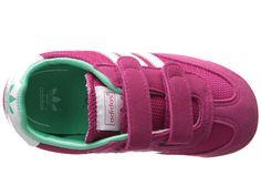 adidas Originals Kids Dragon (Toddler) Bold Pink/Core White/Solo Mint - Zappos.com Free Shipping BOTH Ways
