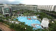 W SINGAPORE - SENTOSA COVE HOTEL TOUR