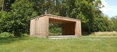 Kiosque du Parc des Moulins, Troyes (Aube), 2012/2013 Atelier d'Architecture Frank Plays