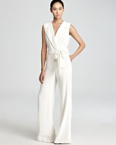 Escada Jumpsuit (white and wide leg) $1,350.00
