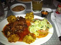 Authentic Haitian food