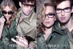 Versace 19-69 Eyewear Campaign | Sebastian Schluter|Iakovos Kalaitzakis-www.vendrecasquette.com
