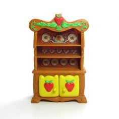 Hutch China Cabinet for Strawberry Shortcake Berry Happy Home Dollhouse