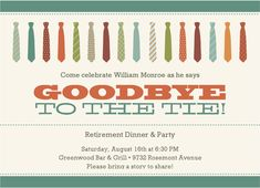 Retirement Party Invitation Retired Invite Instant By Wowwowmeow