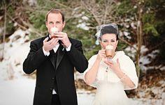 I want a wedding hot coco bar