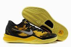 770e73977ff0 Cheap Kobe 8 All Star Black Yellow on www.cheapkobe.org Kobe Shoes