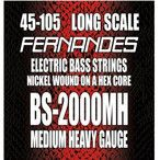 フェルナンデス ベース弦 ミディアムヘビーゲージ 045-105 〔ロング・スケール用〕 BS-2000MH NI FERNANDESの最安値