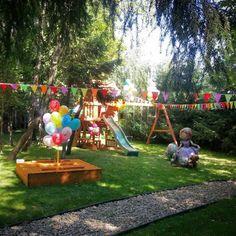 Декор детской игровой площадки,   children party decor,