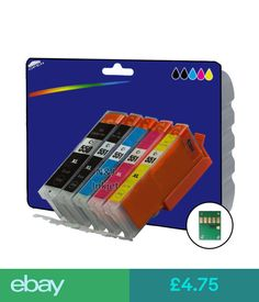 Printer Ink, Toner & Paper 1 Set Compatible Printer Ink Cartridges For Canon Pixma Mg6650 Printer [550/1] #ebay #Electronics