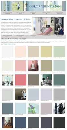 Dulux paint color trends 2014 top left corner sherbert for Benjamin moore paint colors 2014