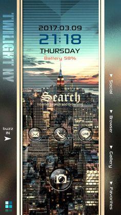 [ホームパックバズ] で、このステキなホーム画面をチェック! k9double Twilight NY / ニューヨーク / 3ページ    ▶未使用アイコンはこちらにあります  *Favorites テキストアイコン  *Tools           ボタンアイコン ※レギュラーサイズのカメラアイコンもあります。   #ニューヨーク #サンセット #夕焼け #スタイリッシュ #クール  #Ne…